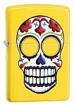 Zippo Lighter - Day of the Dead Lemon