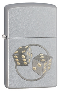 Zippo Lighters - Engraved Dice