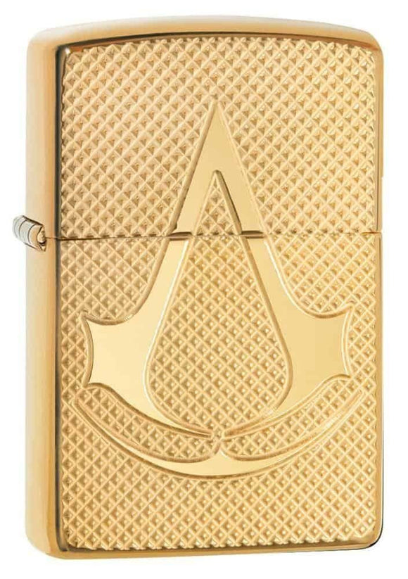 Zippo Lighter - Assassin's Creed Deep Carve on Armor HP Brass