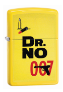 Zippo Lighter - James Bond 007 Dr. No on Lemon