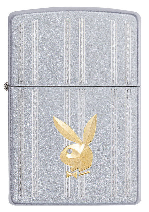 Zippo Lighter - Playboy Rabbit Design