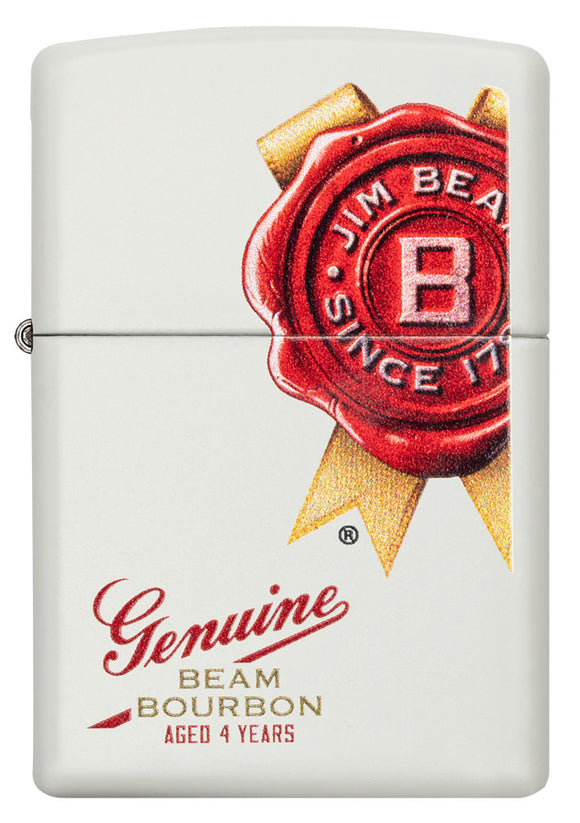 Zippo Lighter - Genuine Beam Bourbon