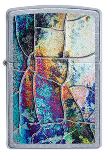 Zippo Lighter - Stained Glass Abandoned