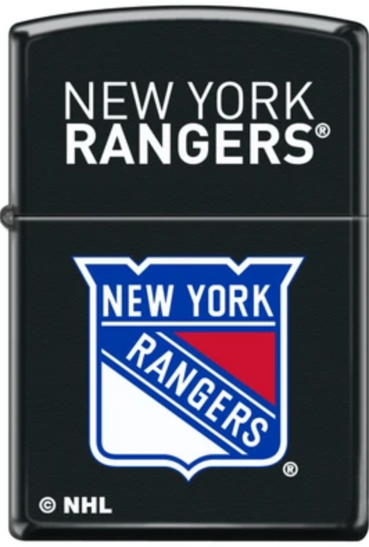 Zippo Lighter - New York Rangers