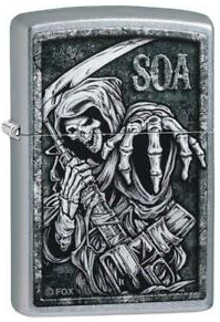 Zippo Lighter - Sons of Anarchy