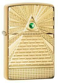 Zippo Lighter- Illuminati Deep Carve