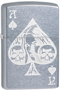 Zippo Lighter - Lady in Ace