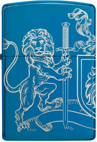 Zippo Lighter - Coat of Arms