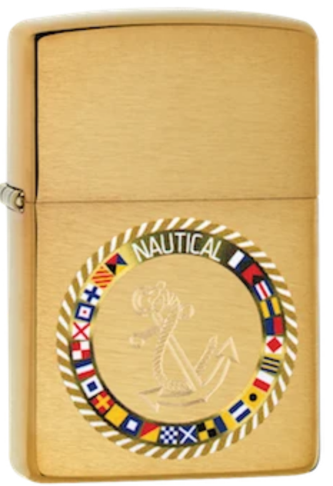 Zippo Lighter - Nautical