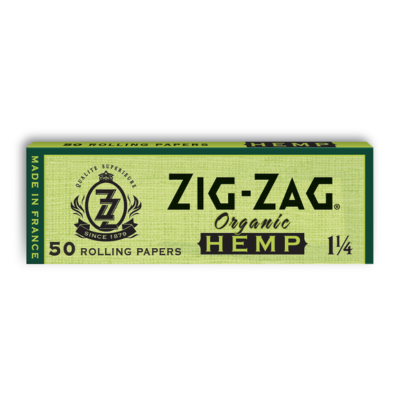 Zig Zag - 1 1/4 Ultra Thin (Organic Hemp)