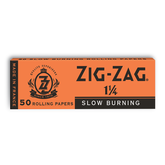 Zig-Zag 1 1/4 Orange (Slow Burning)