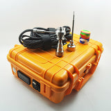 Enail in Pelic Orange Case with 20MM Heater Coil - Head HQ