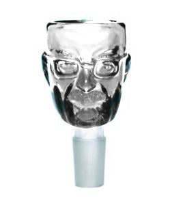 Heisenburg Bowl 14MM Clear - Head HQ