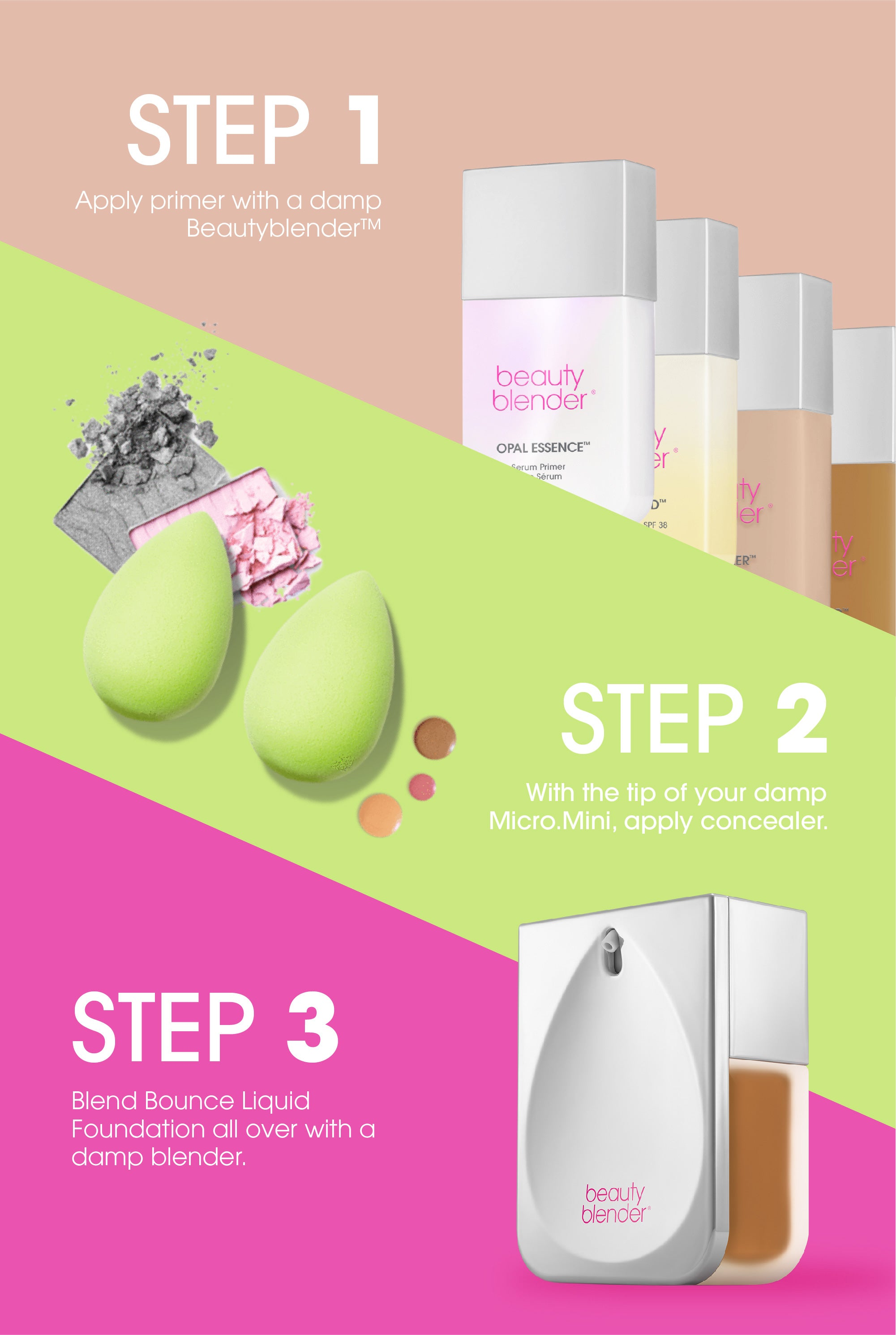 bounce foundation application