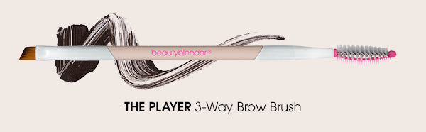 the player 3-way eye brush