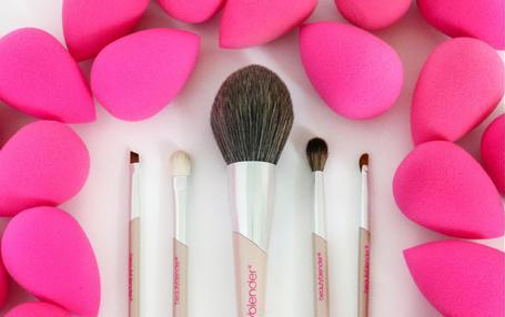 Makeup brush collection from Beauty Blender