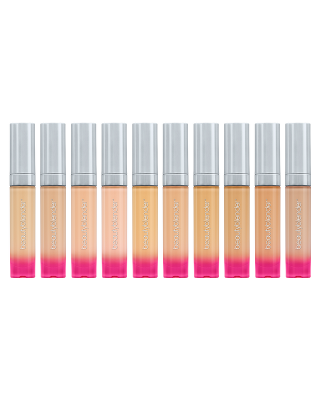 Pro-Kit Bounce™ Airbrush Liquid Whip Concealers in our medium shade range.
