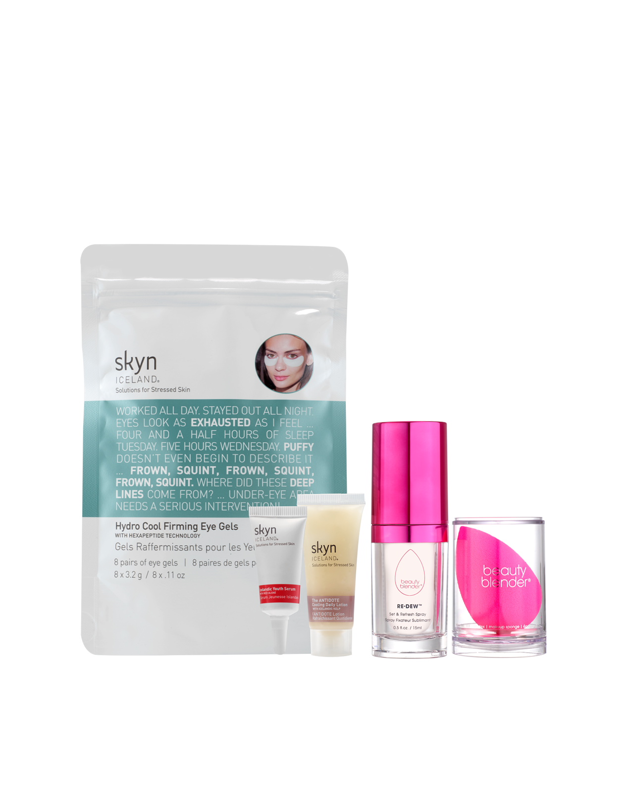 GLOW FOR IT Essentials Kit Beautyblender x skyn ICELAND