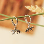 Oorbellen Lucky Leopard EARRINGS - SILVER