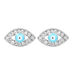 Oorbellen Blue Eyes EARRINGS - SILVER