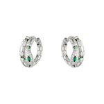 Oorbellen Anaconda EARRINGS - SILVER