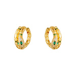Oorbellen Anaconda EARRINGS - GOLD
