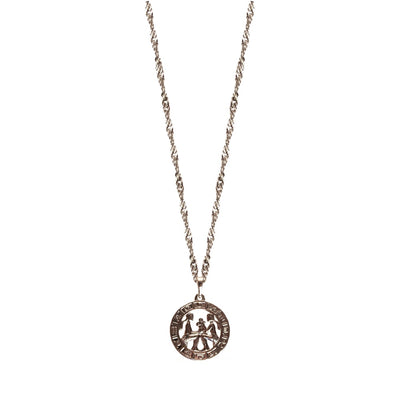 ZODIAC NECKLACE - SILVER