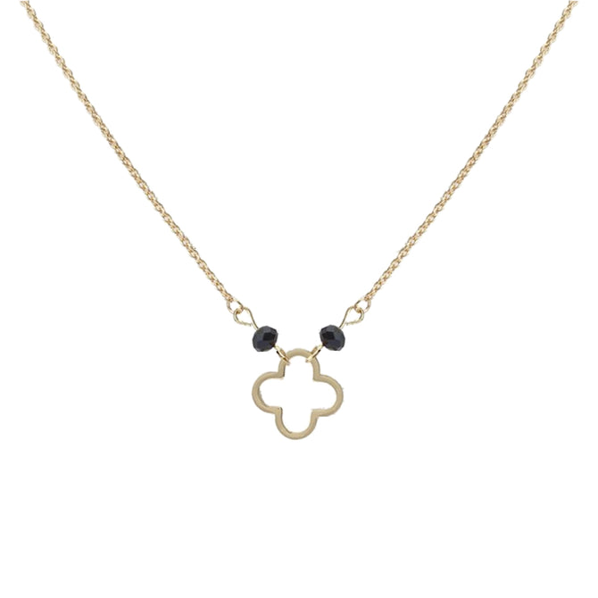 LUCKY CLOVER NECKLACE - GOLD