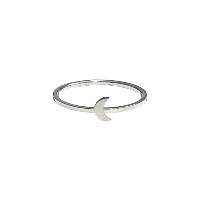 MOON RING - SILVER