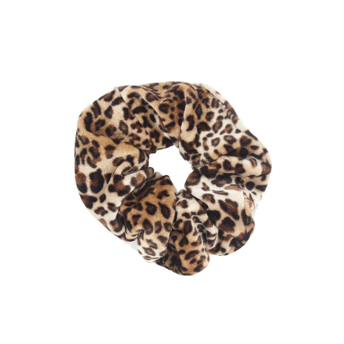 SCRUNCHIE CUTE LEOPARD - BROWN