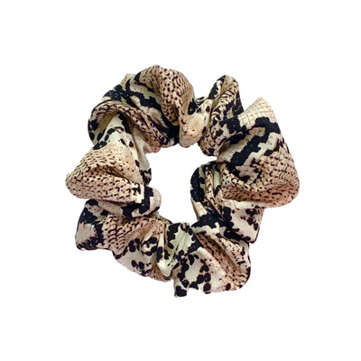 SNAKEPRINT SCRUNCHIE