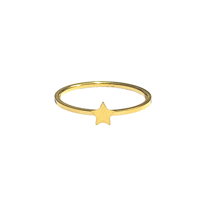 STAR RING - GOLD