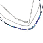 Ketting  Indian Arrow blue