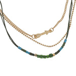 Ketting  Indian Arrow green