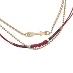 Ketting  Indian Arrow red