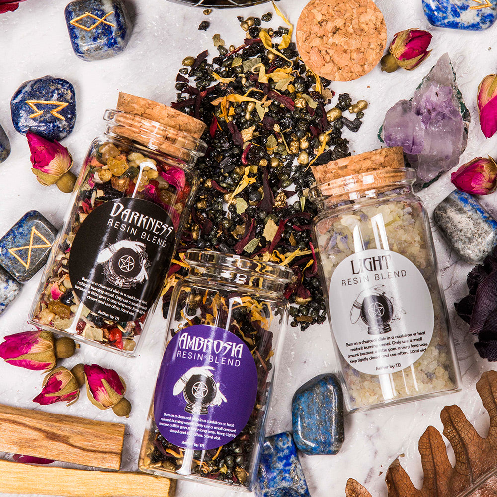 resin incense blends