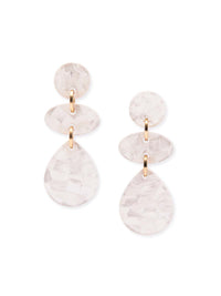 Mother-of-Pearl Drop Earrings