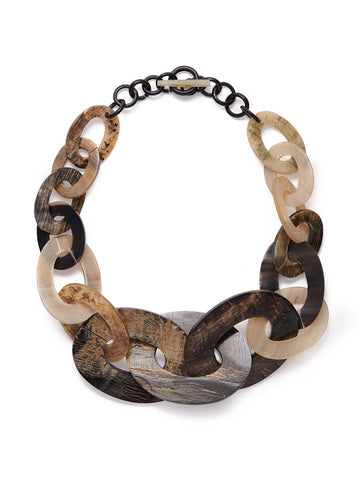 Woodtone Multi-Link Necklace