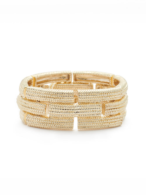Textured Oblong Bracelet