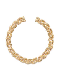 Textured Gold Necklace