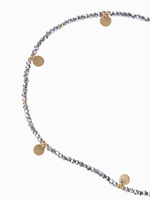 Two-Tone Beaded Face Mask Chain – Premium Detail – Misook