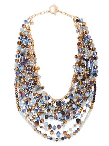 Multistrand Gem Necklace