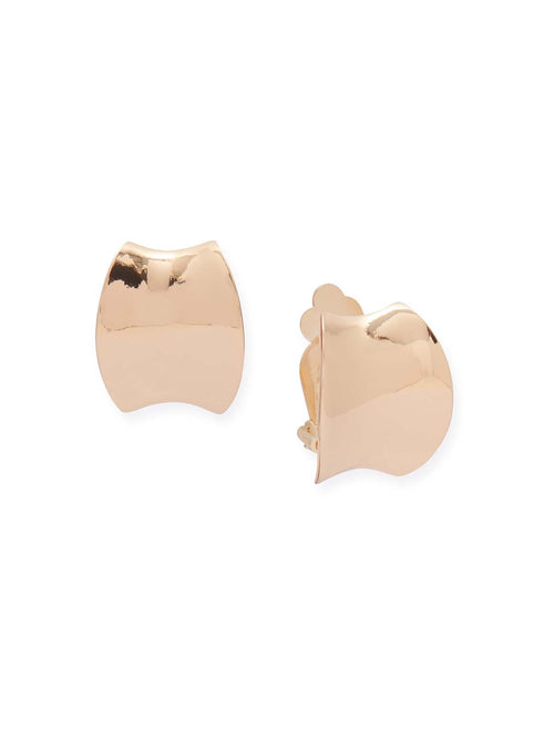 Gold Cuff Clip Earrings – Misook