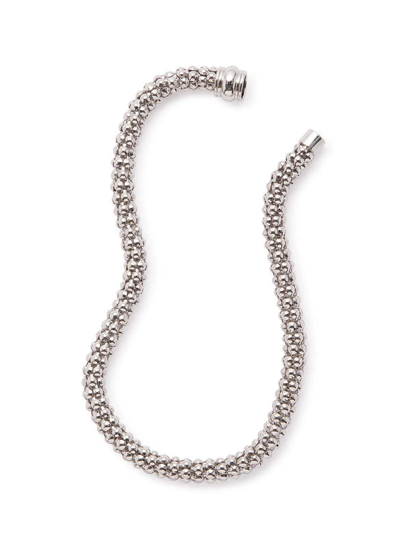 Silver Serpent Chain Necklace
