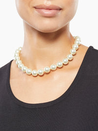 Large Pearl Necklace – Premium Detail – Misook