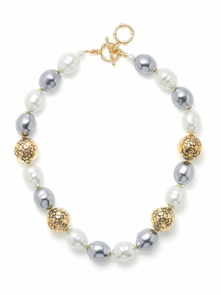 Baroque Antique Pearl Necklace