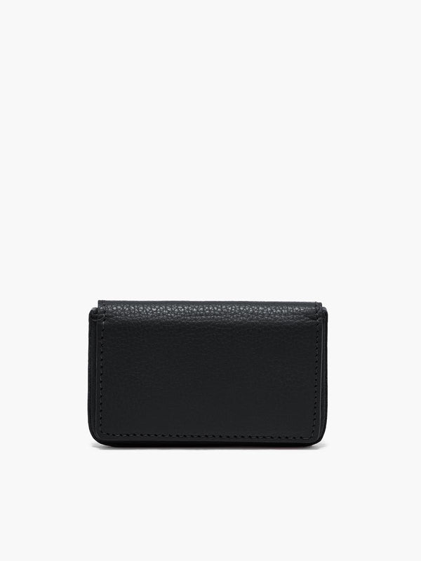 Closed Business Card Case in Color Black