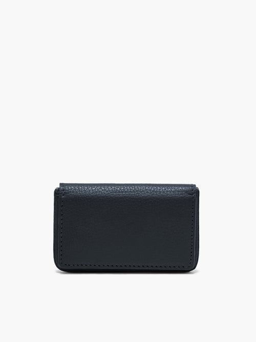 Closed Business Card Case in Color Navy Blue