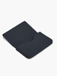 Open Business Card Case in Color Navy Blue