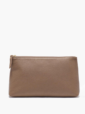 Large Pouch, Taupe